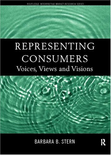 Representing Consumers: Voices, Views and Visions 9780415184144