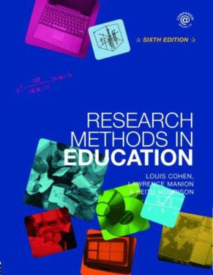 Research Methods in Education 9780415368780