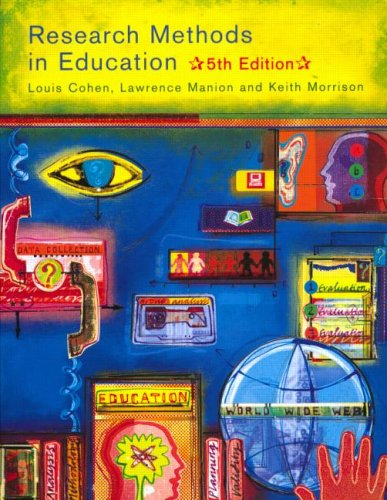Research Methods in Education 9780415195416