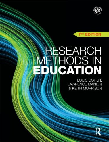 Research Methods in Education 9780415583367