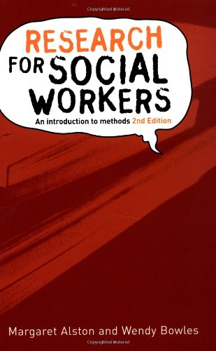 Research for Social Workers 9780415307239