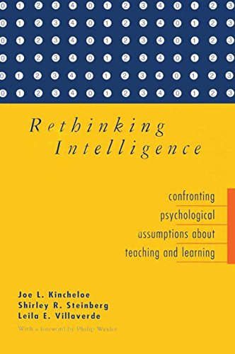 Rethinking Intelligence: Confronting Psychological Assumptions about Teaching and Learning 9780415922098