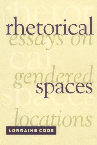 Rhetorical Spaces 9780415909372