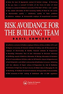 Risk Avoidance for the Building Team 9780419208105