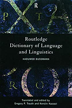 Routledge Dictionary of Language and Linguistics 9780415203197