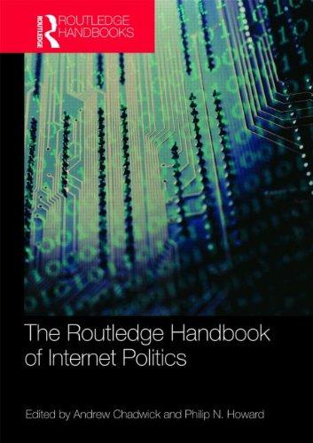 Routledge Handbook of Internet Politics 9780415780582