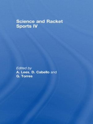 Science and Racket Sports IV 9780415435567