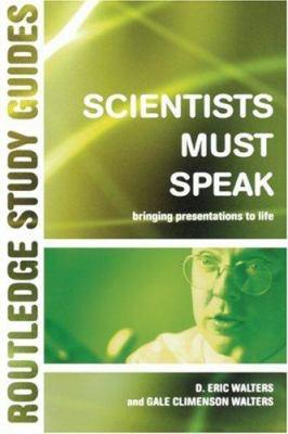Scientists Must Speak 9780415280280