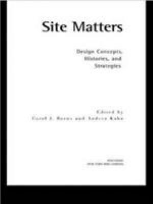Site Matters 9780415949750