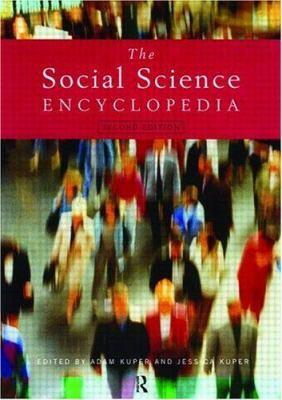 Social Science Ency - Ed2 9780415207942