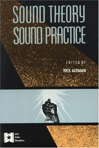 Sound Theory/Sound Practice 9780415904575