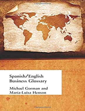 Spanish/English Business Glossary 9780415160438
