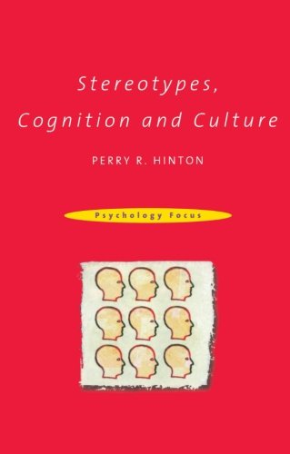 Stereotypes, Cognition and Culture 9780415198660