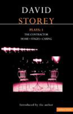 Storey Plays: 1: The Contractor, Home, Stages, Caring 9780413673503