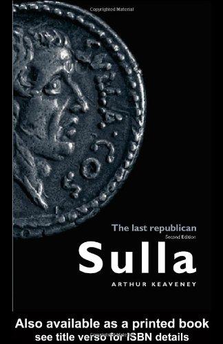 Sulla: The Last Republican 9780415336611