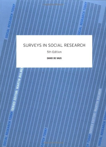 Surveys in Social Research 9780415268585