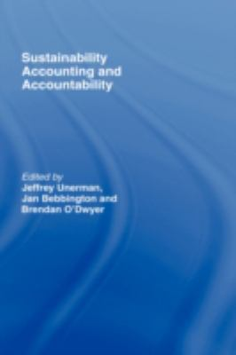 Sustainability Accounting and Accountability 9780415384889