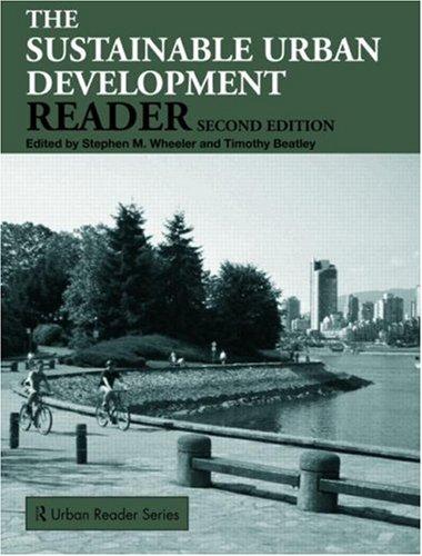 Sustainable Urban Development Reader 9780415453820