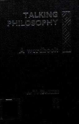 Talking Philosophy: A Wordbook