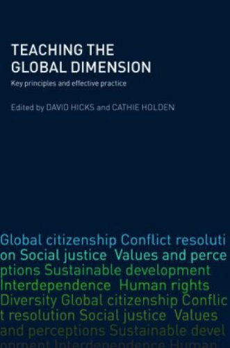 Teaching the Global Dimension: Key Principles and Effective Practice 9780415404495