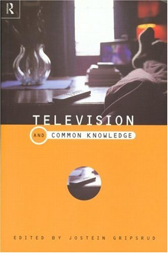 Television and Common Knowledge 9780415189293