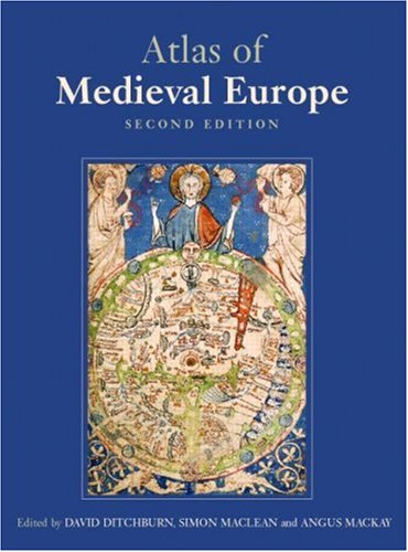 The Atlas of Medieval Europe 9780415344548