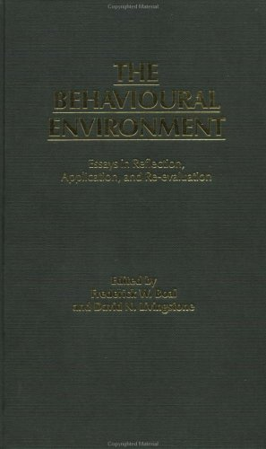 The Behavioural Environment: Essays in Reflection, Application, and Re-Evaluation 9780415004541