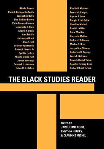 The Black Studies Reader 9780415945547