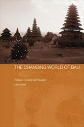 The Changing World of Bali