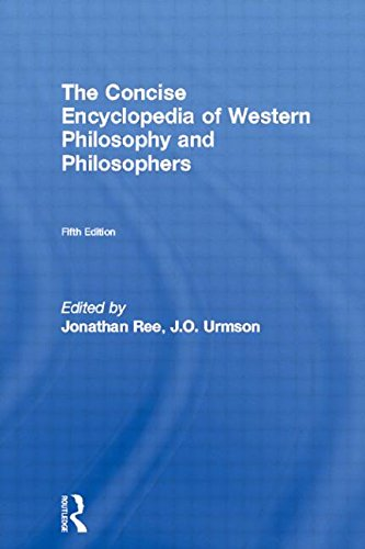 The Concise Encyclopedia of Western Philosophy and Philosophers 9780415078832