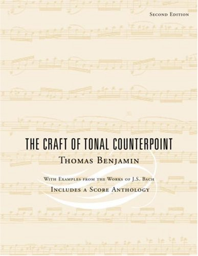 The Craft of Tonal Counterpoint 9780415943918