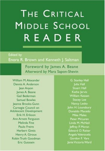 The Critical Middle School Reader 9780415950701