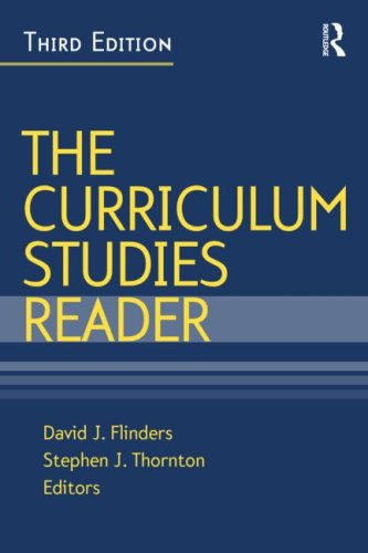 The Curriculum Studies Reader 9780415963220
