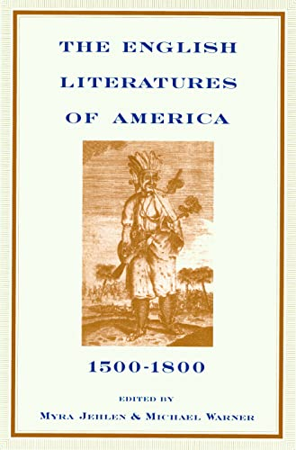 The English Literatures of America: 1500-1800 9780415908733