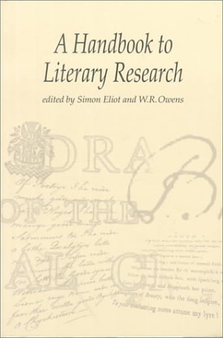 The Handbook to Literary Research 9780415198608