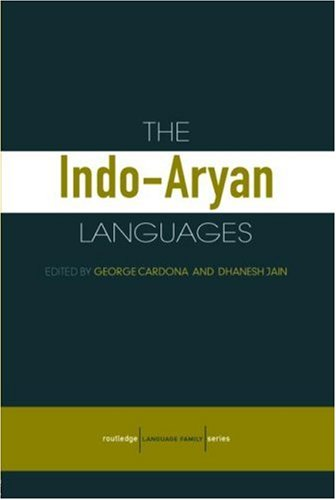 The Indo-Aryan Languages