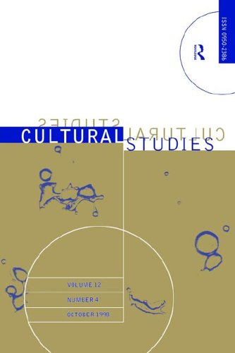 Cultural Studies - Vol. 12.4: The Institutionalization of Cultural Studies 9780415184281