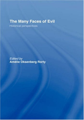 The Many Faces of Evil: Historical Perspectives 9780415242066