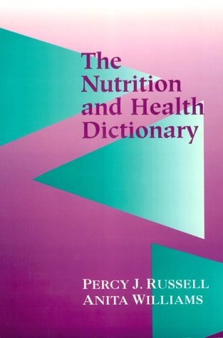 Nutrition and Health Dictionary 9780412989919