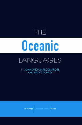 The Oceanic Languages 9780415681551