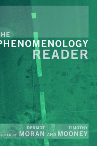 The Phenomenology Reader 9780415224215