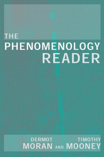 The Phenomenology Reader 9780415224222