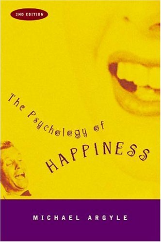 The Psychology of Happiness 9780415226653