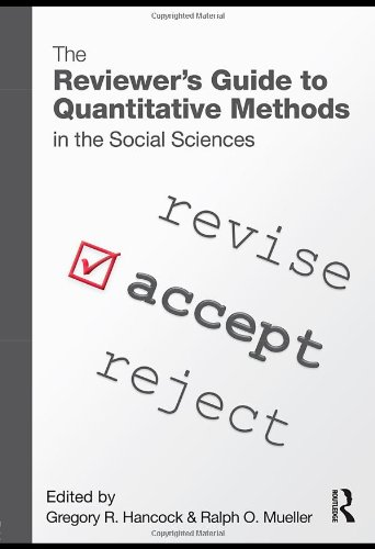The Reviewer's Guide to Quantitative Methods in the Social Sciences 9780415965088