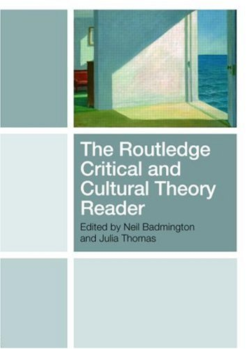 The Routledge Critical and Cultural Theory Reader 9780415433099