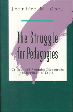 The Struggle for Pedagogies 9780415905640
