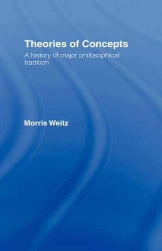 Theories of Concepts: A History of the Major Philosophical Traditions 9780415001809