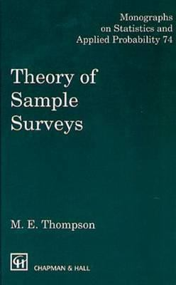 Theory of Sample Surveys 9780412317804