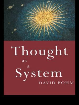 Thought as a System: Thought as a System 9780415110303