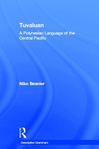 Tuvaluan: A Polynesian Language of the Central Pacific. 9780415024563